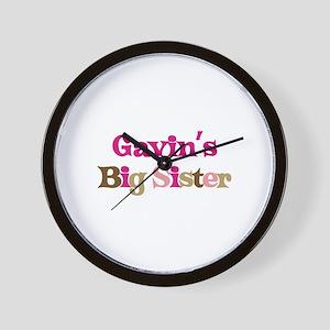 Gavin's Big Sister Wall Clock