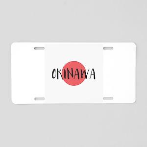 Okinawa Aluminum License Plate