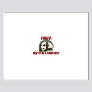Panda trapped in a human body Small Poster