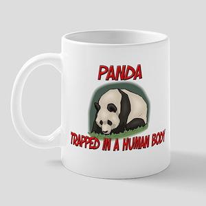 Panda trapped in a human body Mug