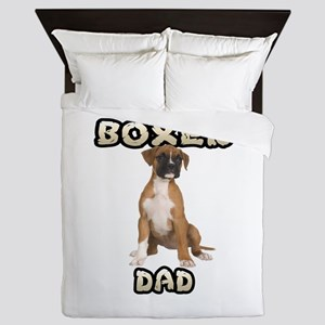 Boxer Dad Queen Duvet