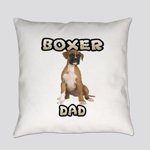 Boxer Dad Everyday Pillow