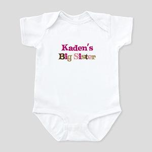 Kaden's Big Sister Infant Bodysuit