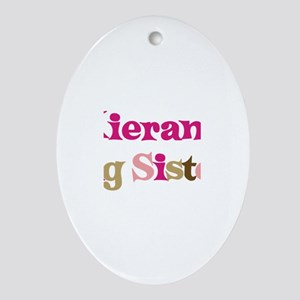 Kieran's Big Sister Oval Ornament
