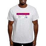 Ash Grey BookMarc.com T-Shirt
