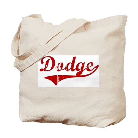 Dodge (red vintage) Tote Bag