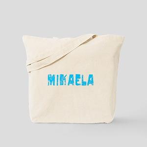 Mikaela Faded (Blue) Tote Bag