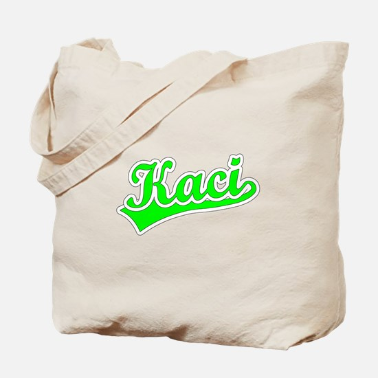 Retro Kaci (Green) Tote Bag