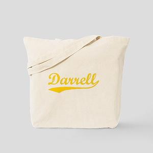 Vintage Darrell (Orange) Tote Bag