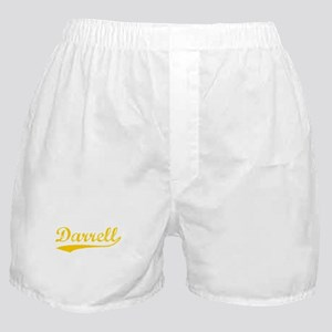 Vintage Darrell (Orange) Boxer Shorts