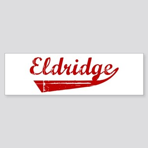 Eldridge (red vintage) Bumper Sticker