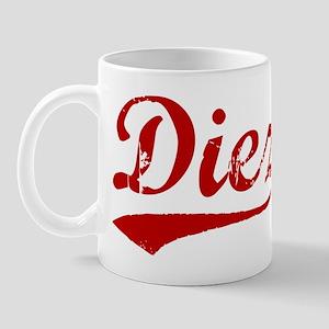 Diez (red vintage) Mug