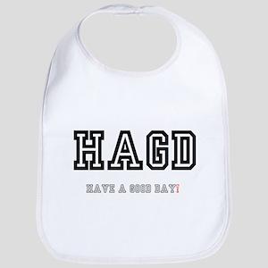 HAGD - HAVE A GOOD DAY! Baby Bib