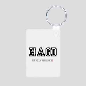 HAGD - HAVE A GOOD DAY! Keychains