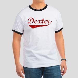 Dexter (red vintage) Ringer T