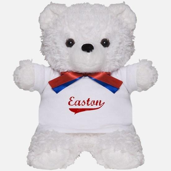 Easton (red vintage) Teddy Bear