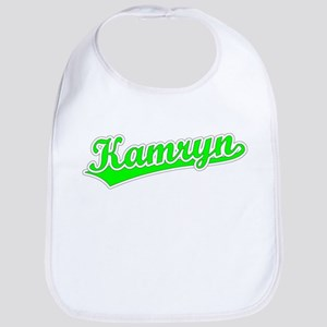 Retro Kamryn (Green) Bib
