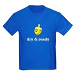 dry & ready Kids Blue T-Shirt