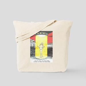 Cartoon art Tote Bag
