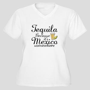 Tequila Women's Plus Size V-Neck T-Shirt