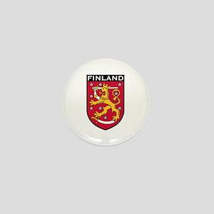 Finland Coat of Arms Mini Button