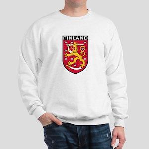 Finland Coat of Arms Sweatshirt
