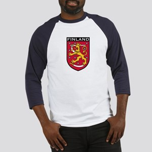 Finland Coat of Arms Baseball Jersey