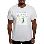Cancer Close Encounters Ash Grey T-Shirt