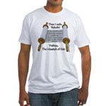 Hebrews 10:7 Fitted T-Shirt