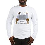 Hebrews 10:7 Long Sleeve T-Shirt
