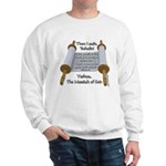 Hebrews 10:7 Sweatshirt