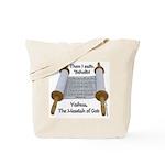 Hebrews 10:7 Tote Bag