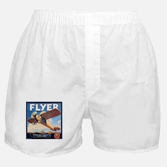 The Orange Ad Plane Boxer Shorts