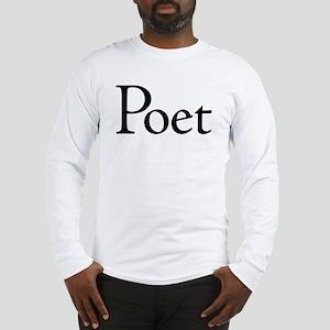 Poet Long Sleeve T-Shirt