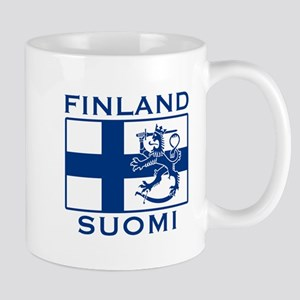 Finland Suomi Flag Mug