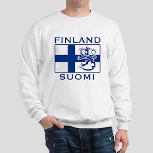 Finland Suomi Flag Sweatshirt
