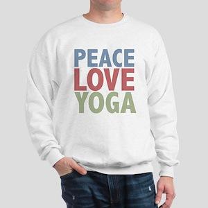 Peace Love Yoga Sweatshirt