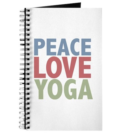 Peace Love Yoga Journal