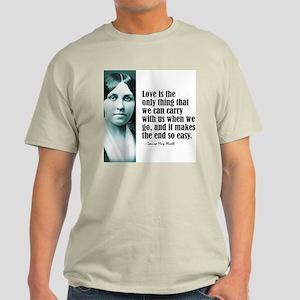 """Alcott """"Love"""" Light T-Shirt"""