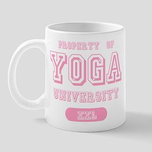 Property Of Yoga University Mug