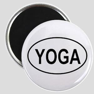 European Oval Yoga Magnet