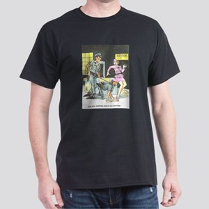 NAUGHTY CARTOON Dark T-Shirt