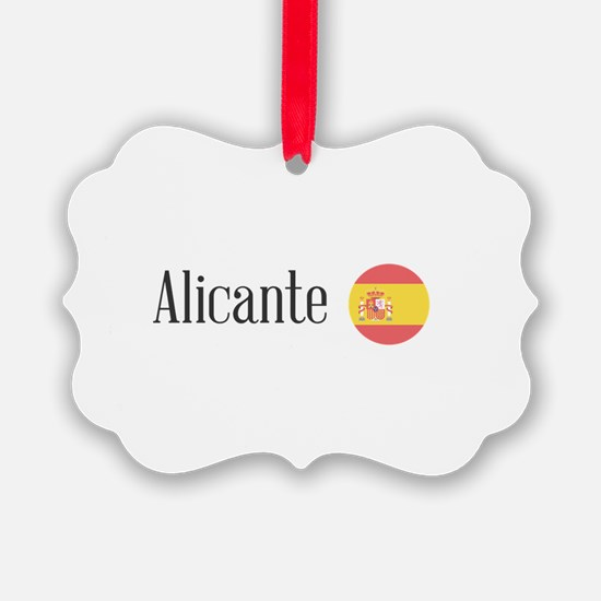 Alicante Ornament