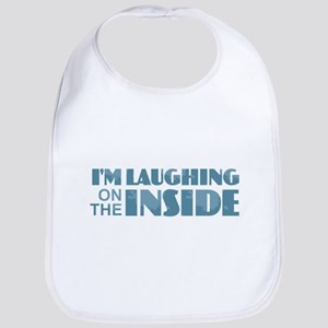 Laughing on the Inside Baby Bib
