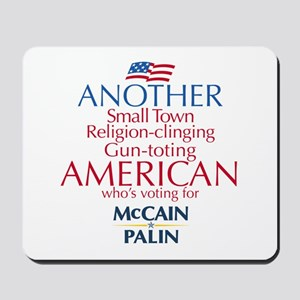 Small Town American for McCain Palin Mousepad