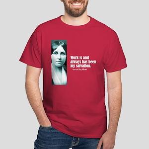 """Alcott """"Work"""" Dark T-Shirt"""
