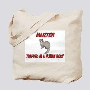 Marten trapped in a human body Tote Bag