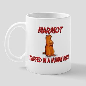 Marmot trapped in a human body Mug