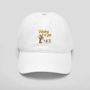 Floral 75th Cap