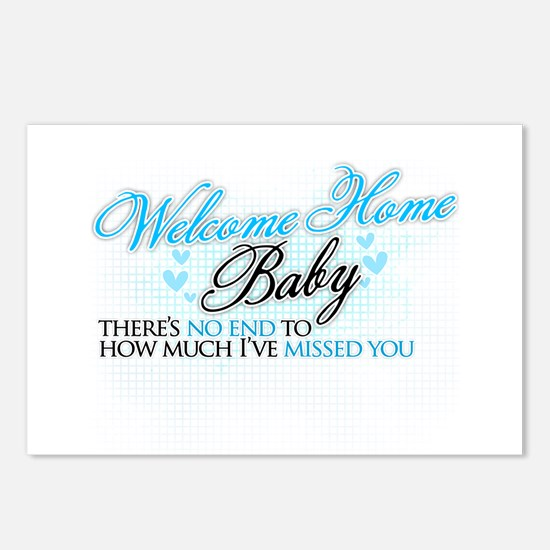 Welcome Home Baby Postcards (Package of 8)
